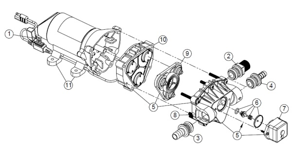 High Flo Gold Series Pump Parts Diagram